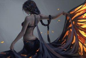 Rating: Safe Score: 335 Tags: aeolian_(wlop) braids ghostblade long_hair ponytail skirt_lift wlop User: RyuZU